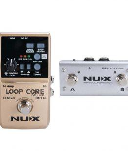 Nux loop pedal guitar hos www.guitaristen.dk