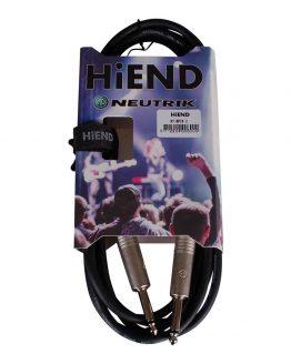 Neutrik kabel 3 meter hos www.guitaristen.dk