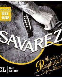 Savarez strenge til western guitar. fra www.guitaristen.dk