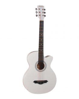 Norfolk Western Guitar Hvid hos www.guitaristen.dk