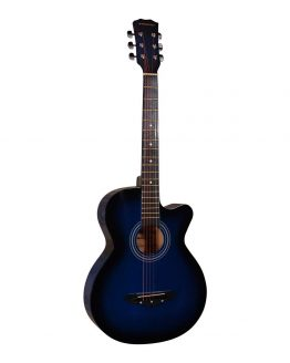 Norfolk Western Guitar blå hos www.guitaristen.dk