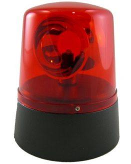 Politi lys i farven rød hos www.guitaristen.dk
