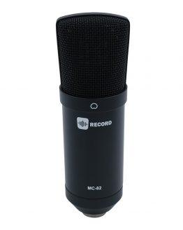 Record-MC-82-BK-kondensator-mikrofon-black. hos www.guitaristen.dk