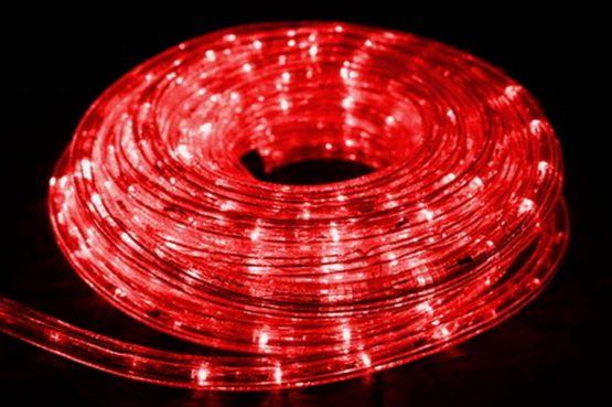 Redshow LDS 10 i farven rød - lys slange hos www.guitaristen.dk