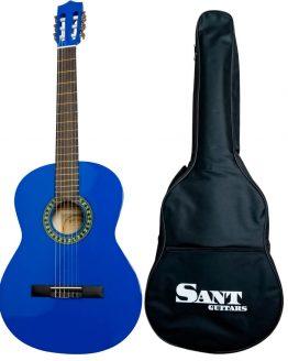 Sant Guitars 4/4 Blå hos www.guitaristen.dk