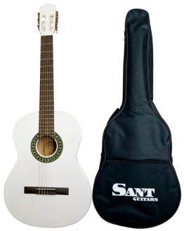 Sant Guitars 4/4 Hvid hos www.guitaristen.dk