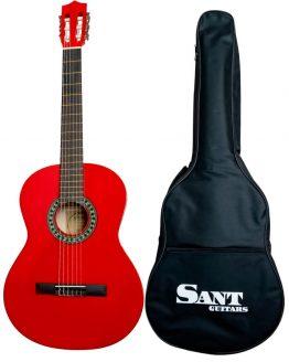 Sant Guitars 4/4 Rød hos www.guitaristen.dk