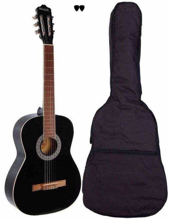 Sant Guitars 4/4 Sort hos www.guitaristen.dk