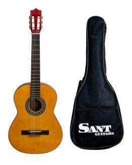 Sant Guitars - Guitar 4/4 i Natur hos www.guitaristen.dk