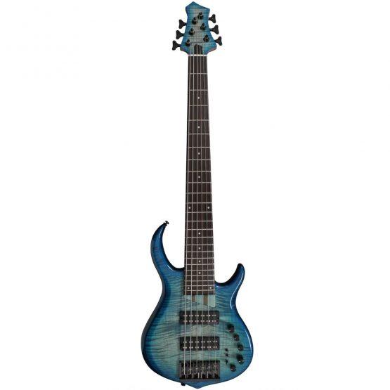 Sire Marcus Miller el bas i transparent blå. hos www.guitaristen.dk