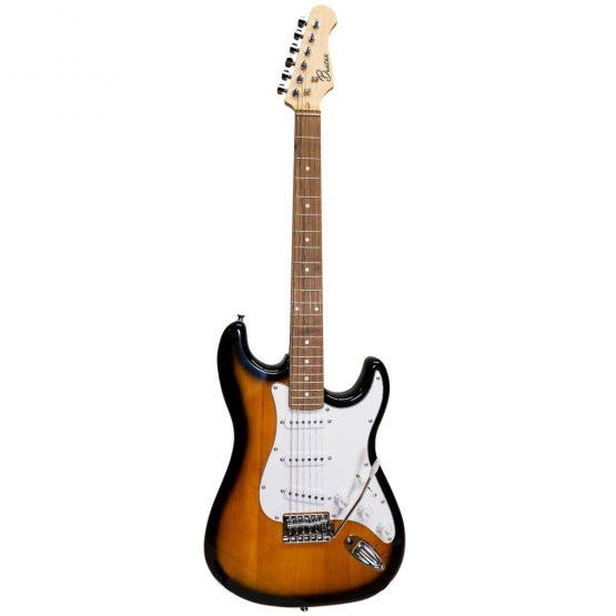 Beaton el guitar i farven sunburst hos www.guitaristen.dk