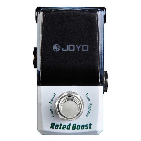Joyo JF-301 Ironman Rated Boost guitar-effekt-pedal hos www.guitaristen.dk