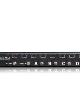 Joyo PXL8 loop-pedal-router hos www.guitaristen.dk