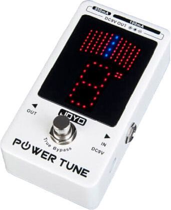 Joyo power pedal tuner effekt el guitar hos www.guitaristen.dk