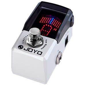 Joyo pedal tuner el guitar hos www.guitaristen.dk