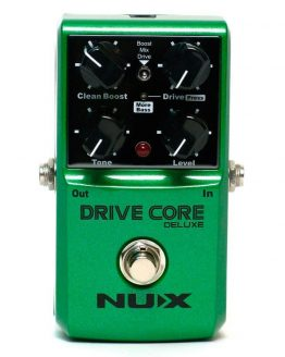Nux Drive Core Deluxe multi-distortion guitar-pedal hos www.guitaristen.dk