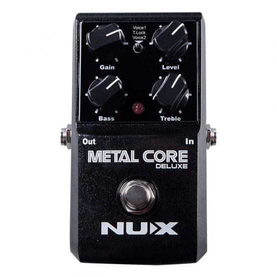 Nux-Metal-Core-Deluxe-guitar-pedal hos www.guitaristen.dk