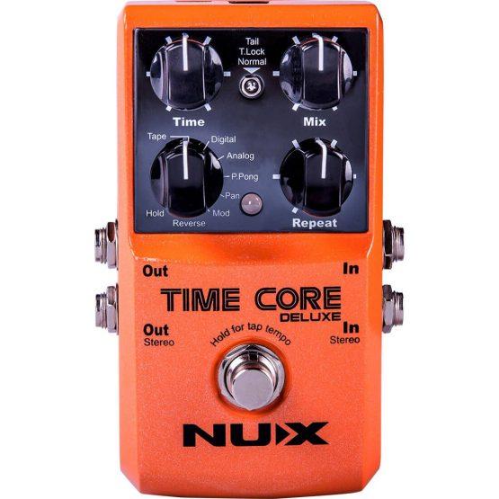 Nux Time Core Deluxe multi-delay guitar-pedal hos www.guitaristen.dk