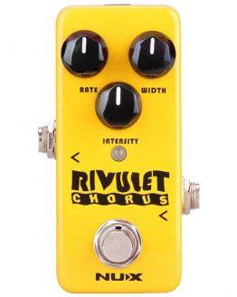 Rivulet Chorus Nux effekt guitar pedal hos www.guitaristen.dk