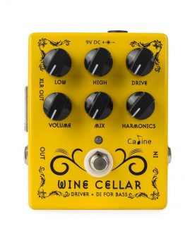 Caline cp 60 wine guitar effekt pedal hos www.guitaristen.dk