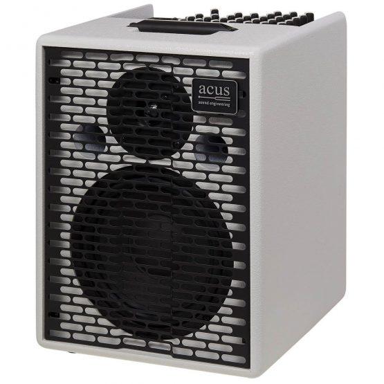 Acus-One-For-Strings-8-V2-White-akustisk-guitar-forstaerker-white, hos www.guitaristen.dk