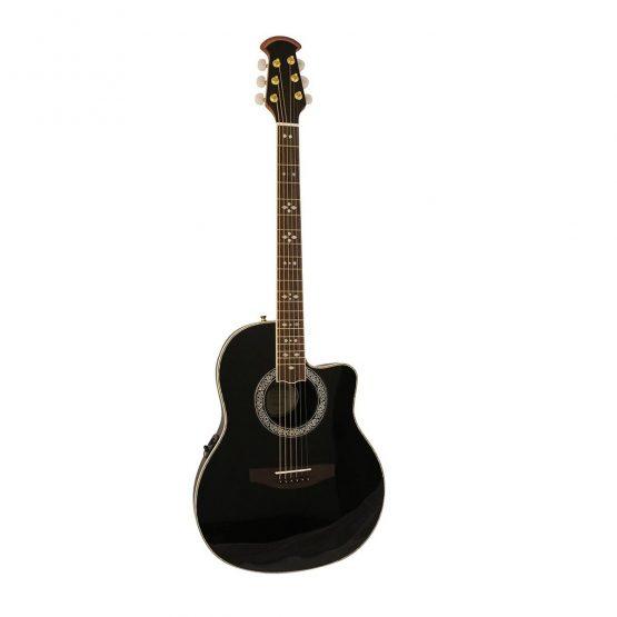 Santana-OV-90-CWEQ-HG-BK-western-guitar-black-hos-www.guitaristen.dk
