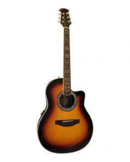 Santana-OV-90-CWEQ-HG-SB-western-guitar-sunbust-hos-www.guitaristen.dk