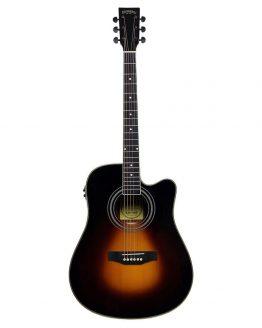 Santana-LA-100EQCW-SB-v2-western-guitar-sunburst-hos-www.guitaristen.dk