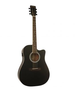 Santana-ST-100EQCW-SA-BK-v2-western-guitar-satin-black-hos-www.guitaristen.dk