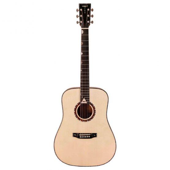 Tyma-V-30E-western-guitar-hos-www.guitaristen.dk