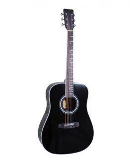 Santana-ST-300DBK-western-guitar-black-hos-www.guitaristen.dk