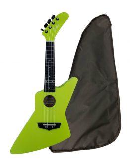 Chateau-BAS01EX-GR-ukulele-green-hos-www.guitaristen.dk