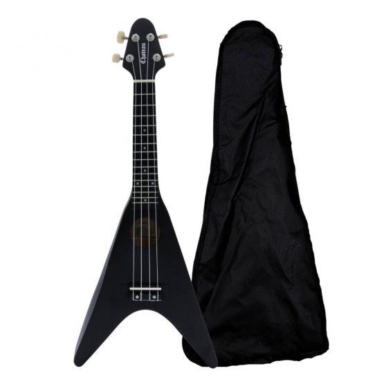 Chateau-BAS01FV-BK-ukulele-black-hos-www.guitaristen.dk