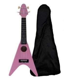 Chateau-BAS01FV-PK-ukulele-pink-hos-www.guitaristen.dk