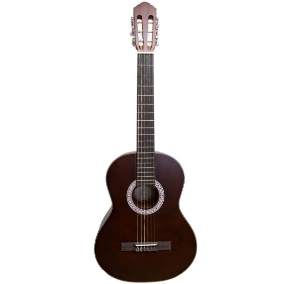 Santana-B7-BW-v2-boerne-spansk-guitar-brown-satin-www.guitaristen.dk