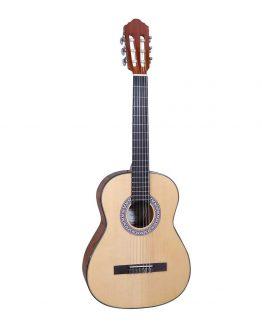 Santana-B7-NA-LEFT-v2-boerne-spansk-guitar-venstrehaandet-natur-www.guitaristen.dk